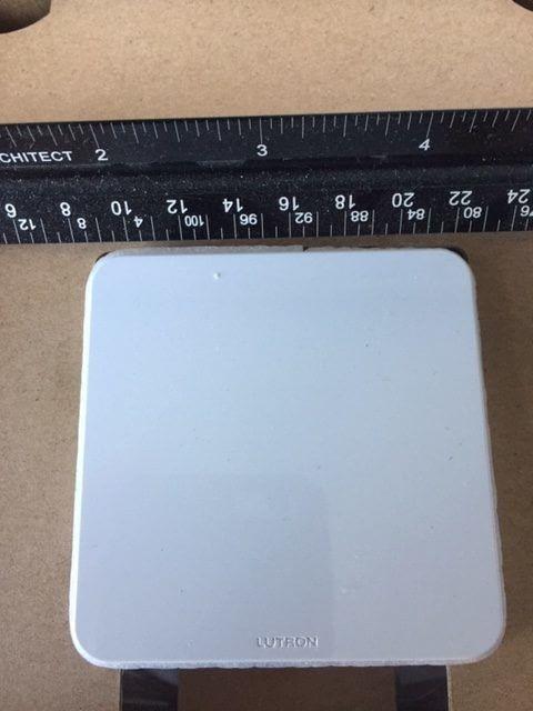 Lutron Caseta L-BDGPRO2-WH - SmartBridge Pro Programmed Via Lutron App, White