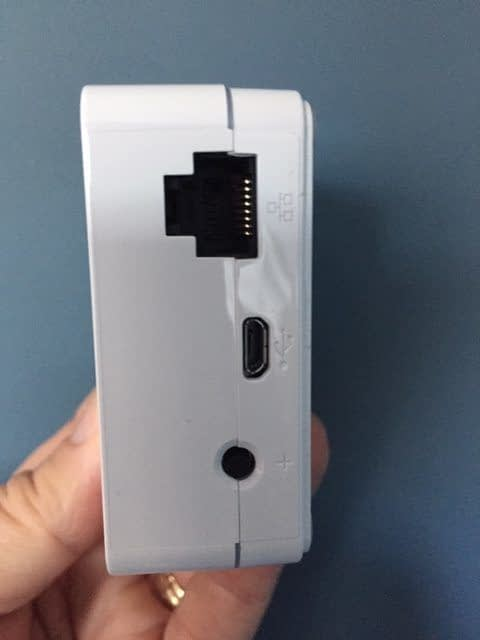Lutron Caseta L-BDGPRO2-WH - SmartBridge Pro Programmed Via Lutron App, White - View ports