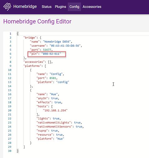 LED Strip Light Project Homebridge setup code for HomeKit