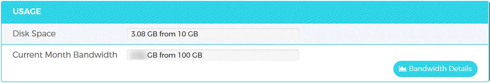 WPX Managed WordPress Hosting Usage