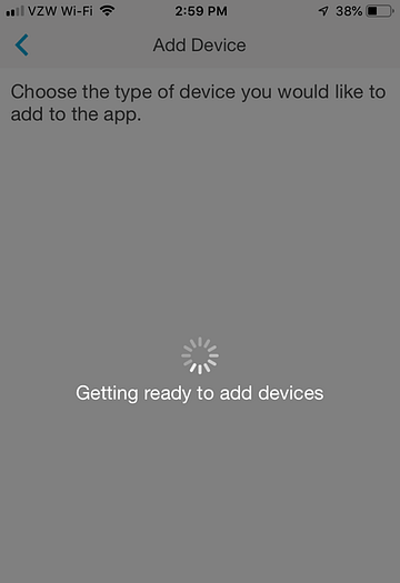 App Install on iPhone - Getting ready to add devices