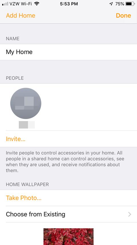 Sharing the Lutron Caseta App - Home Setup