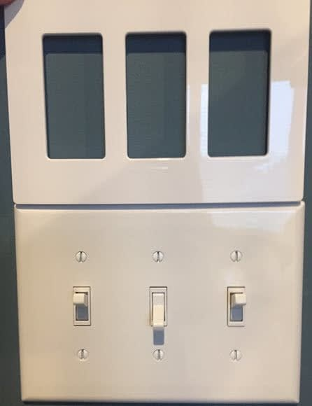 3-gang toggle switches to be replaces with Smart Dimmer switches