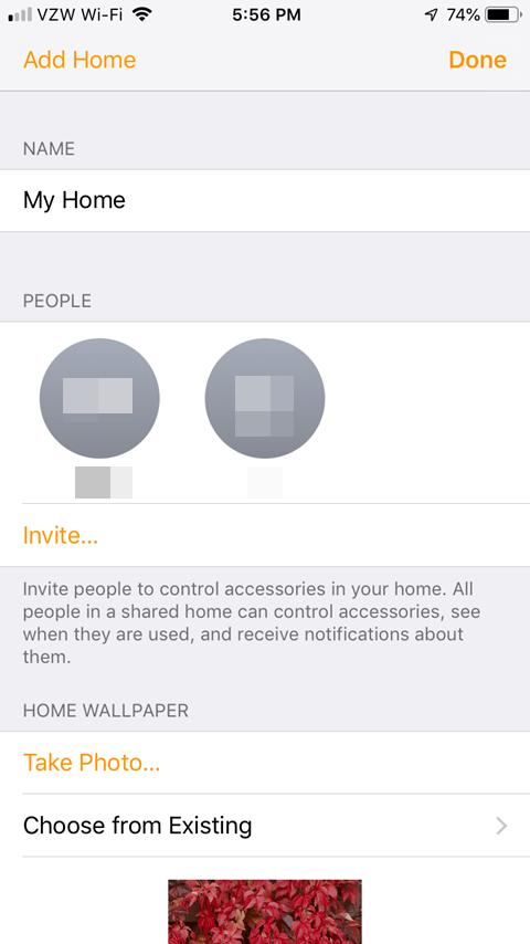 Sharing the Lutron Caseta App - Home Setup After