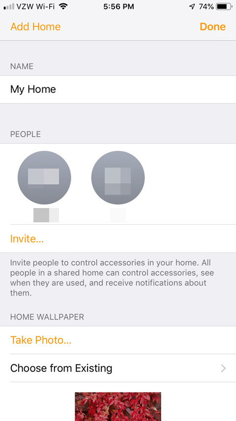 Sharing the Lutron Caseta App - Home Setup After