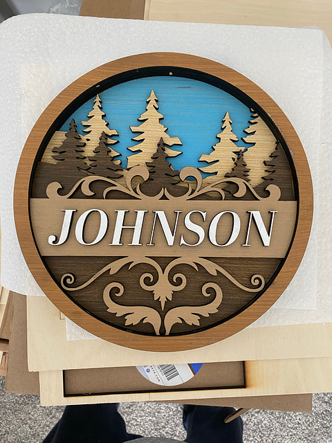 Pre Touchup version of custom door sign
