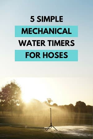 Mechanical Water Timer for Hoses