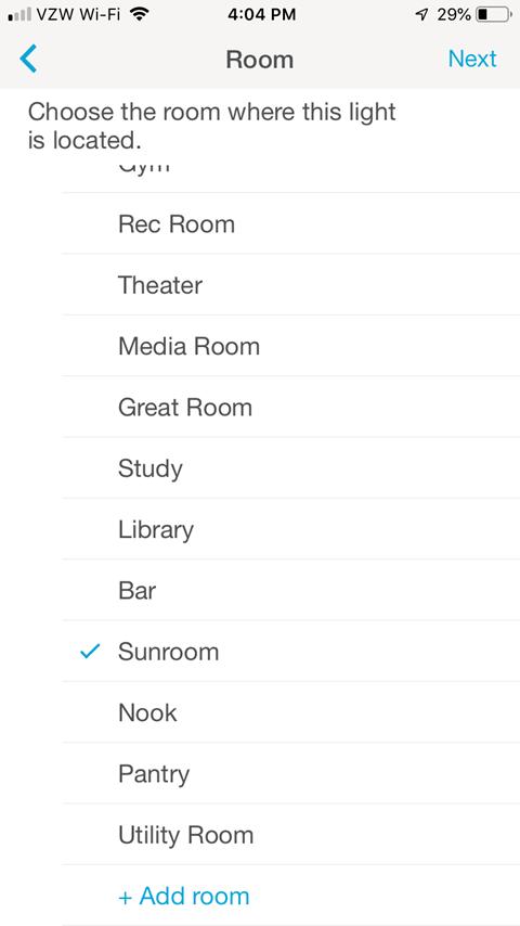 Room Screen