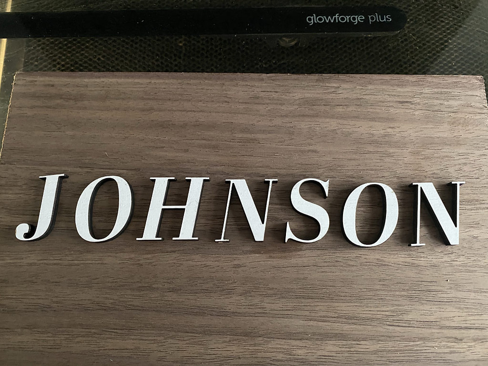 Custom Door Sign Letters for Name