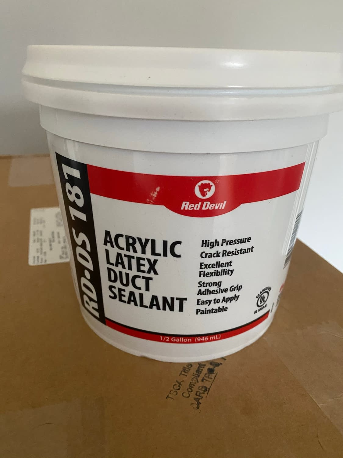 Red Devil Acrylic Latex Duct Sealant