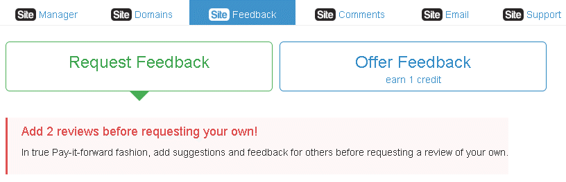 SiteFeedback