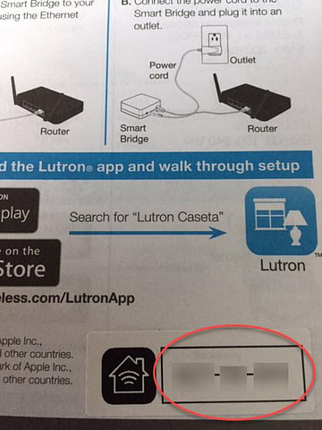 App Install on iPhone - Enter Setup Code