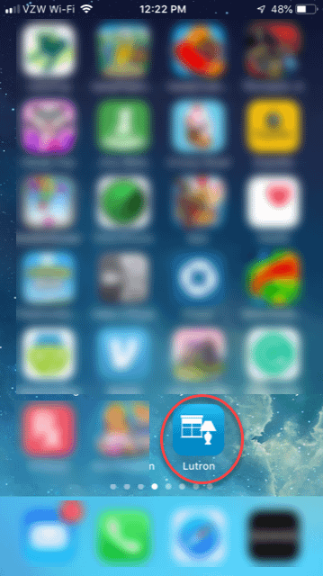 App with iPhone Icon
