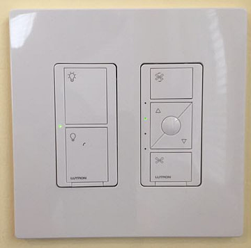Attach the Switch Cover Front Plate