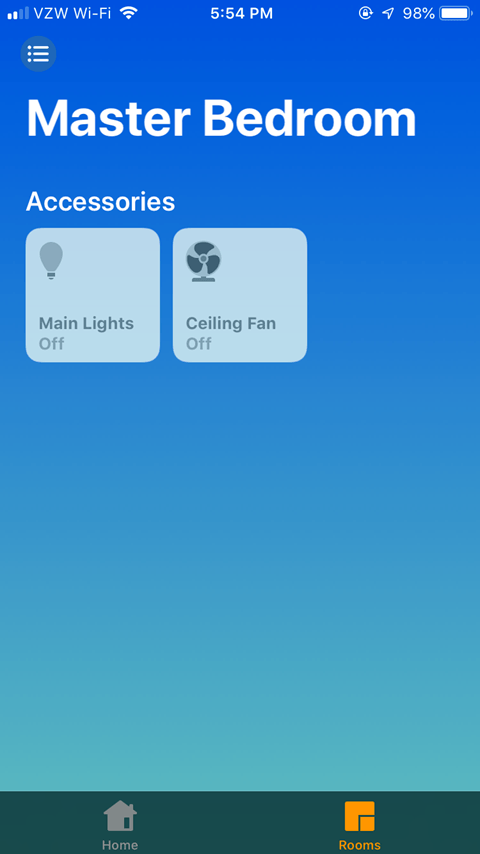 Sharing the Lutron Caseta App - Home System Added