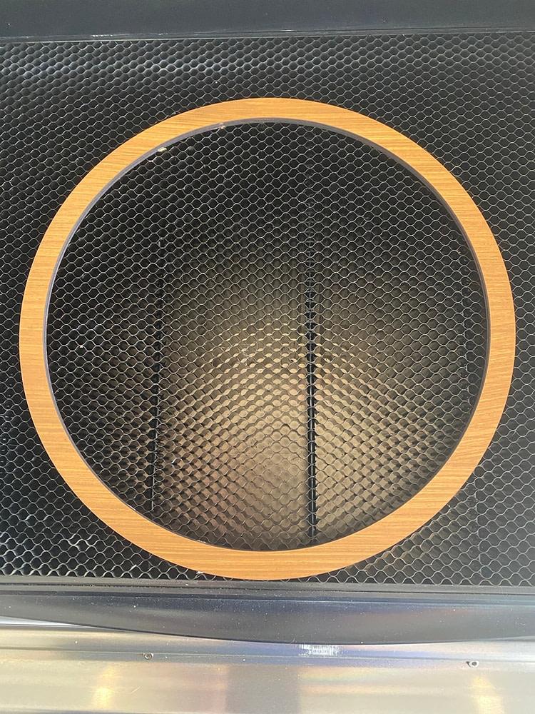 Layer Five of the Custom Front Door Sign